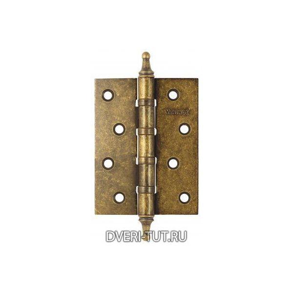 Петля универсальная Vintage B4K-BR 100*75*3 состаренная бронза