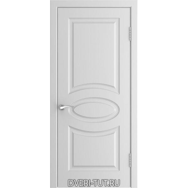 Дверь L-1 ДГ с покрытием эмаль белая (глухая)
