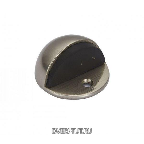 Дверной ограничитель (упор) Vintage DS3SN матовый никель