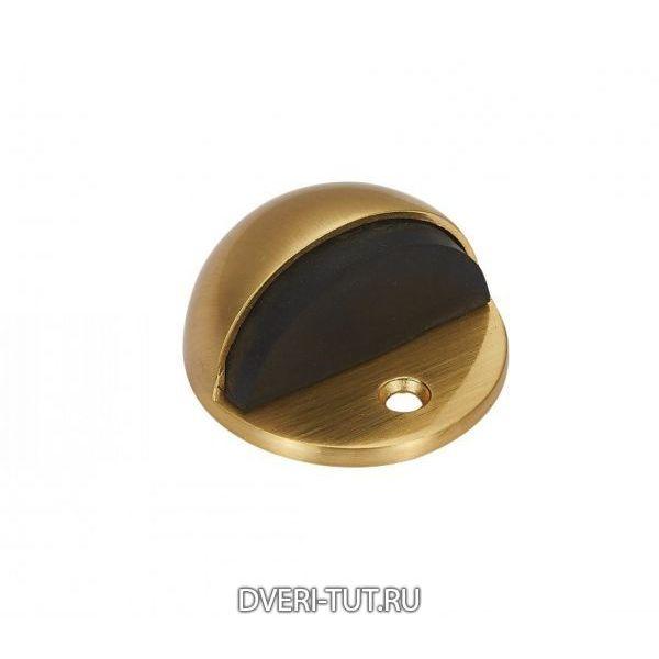 Дверной ограничитель (упор) Vintage DS3SB матовое золото