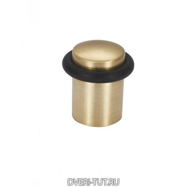 Ограничитель дверной (упор) Vintage DS1SB матовое золото