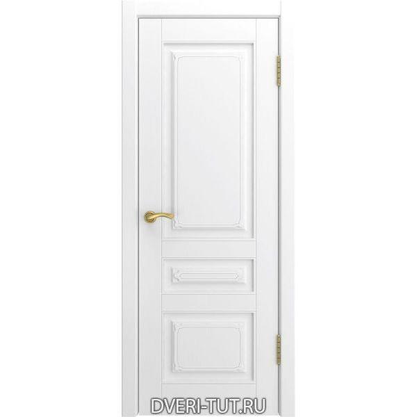 Дверь L-4 ДГ (глухая) с покрытием эмаль белая