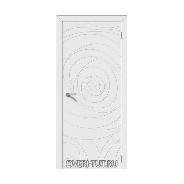 Дверь Lose ДГ (глухая) с покрытием эмаль белая