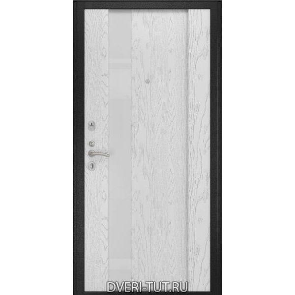 Дверь ТУТ-13 с панелями натуральный шпон дерева под межкомнатные двери Luxor
