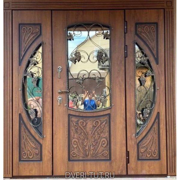 Дверь уличная для частного дома Эксклюзив NEW