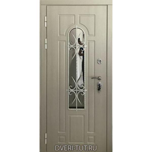 Дверь Лацио для частного дома белая