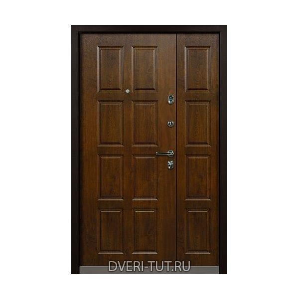 Двупольная дверь Rustica (Рустика) уличная.