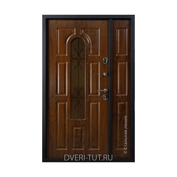 Двупольная дверь Sevilla (Севилья) в коттедж и частный дом.