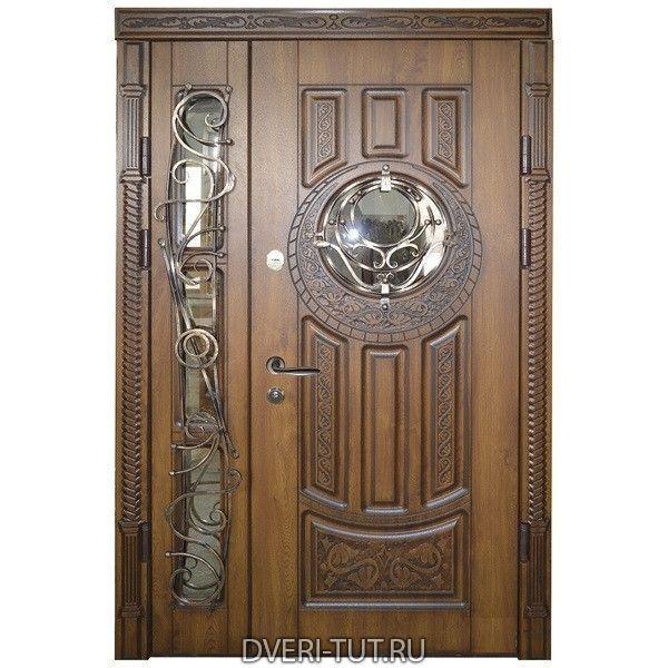 Двупольная дверь Bergen (Берген) в коттедж и частный дом.