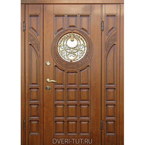 Двупольная дверь Santiago (Сантьяго) для коттеджей.