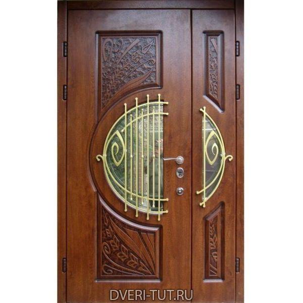 Двупольная дверь Mumbai (Мумбаи) для коттеджа.