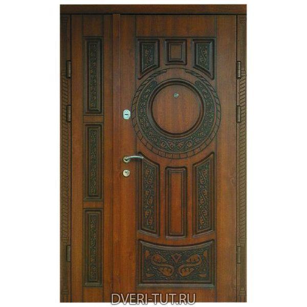 Двупольная дверь Porto (Порту) для коттеджа.