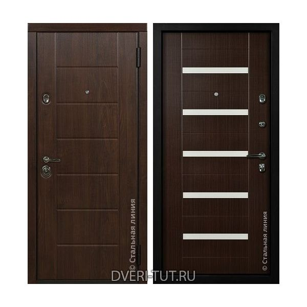 Дверь Millenium (Миллениум) темный орех-темный орех