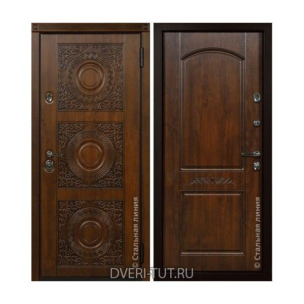 Дверь Milano «Милано» Дуб золотистый-дуб золотистый.