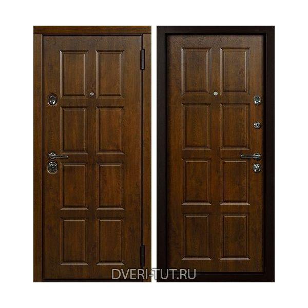 Входная дверь Oktavio (Октавио) дуб золотистый-дуб золотистый