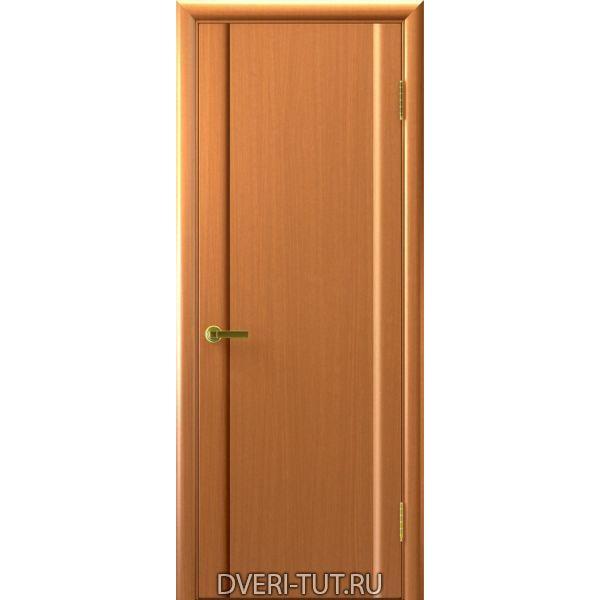 Дверь шпонированная Синай 3 ДГ светлый анегри тон 34 (глухая)