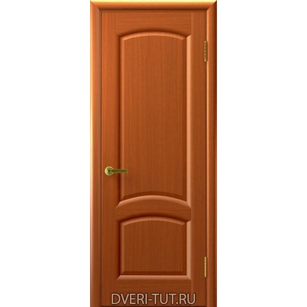 Дверь Лаура ДГ шпон темный Анегри тон 74 (глухая)