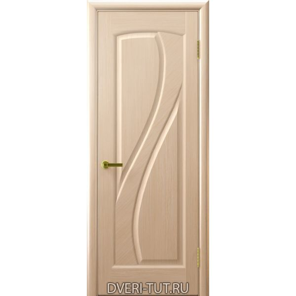 Дверь Мария ДГ шпон беленый дуб (глухая)