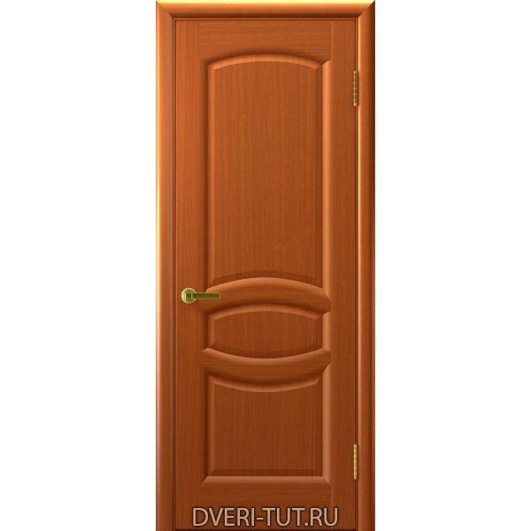 Дверь Анастасия ДГ шпон темный анегри тон 74 (глухая)