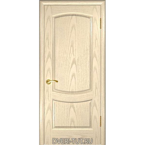 Дверь Лаура 2 ДГ шпон ясень слоновая кость (глухая)